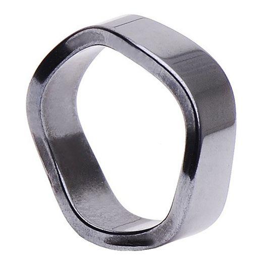 Ring-aus-Hämatit-6mm-gewellt