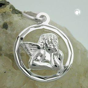Anhänger-Engel-im-Kreis-925-Silber