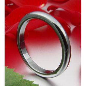 Ring-aus-Hämatit-runde-Kanten-Breite-3mm