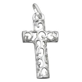 Anhänger-Kreuz-mit-Muster-28x14mm-925-Silber