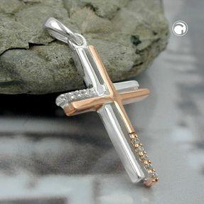 Anhänger-zweifaches-Kreuz-375-Weißgold-Zirkonia