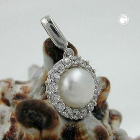 Anhänger-Perle-Zirkonia-rundum-925-Silber