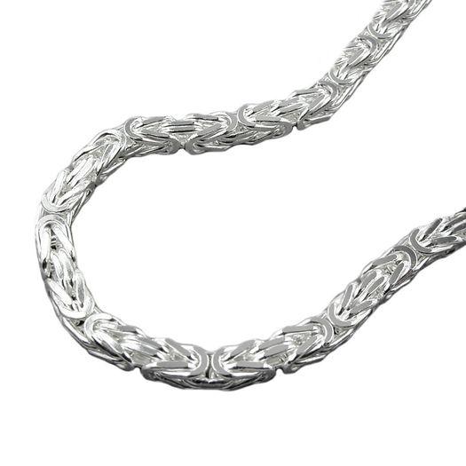 Collier-3mm-Königskette-Silber-925-45cm