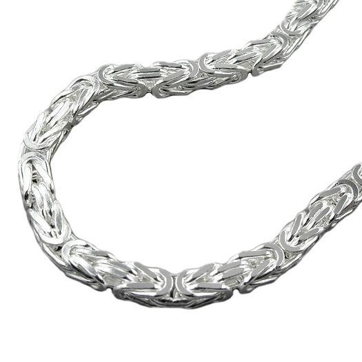 Armband-5mm-Königskette-Silber-925-21cm
