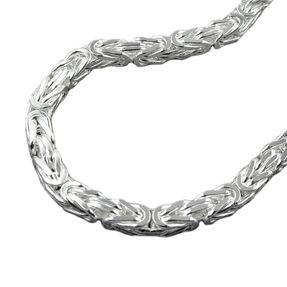 Armband-6mm-Königskette-Silber-925-21cm