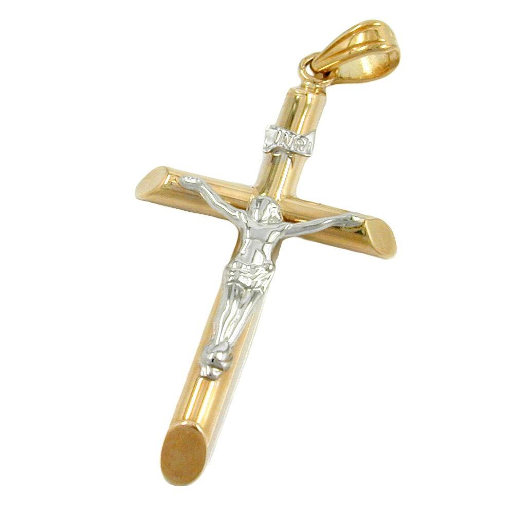 Gott Jesus Kreuz Anhänger Frauen Kettenhalsketten Hochzeit Silber W8E9