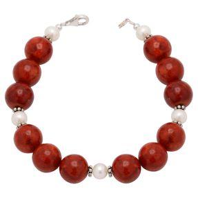 Armband-aus-Schaumkorallen-und-Perlen