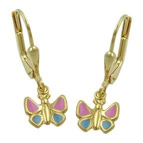 Brisur-Schmetterling-9Kt-GOLD