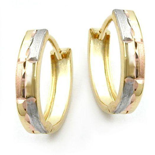 Creole-tricolor-diamantiert-9Kt-375-Gold