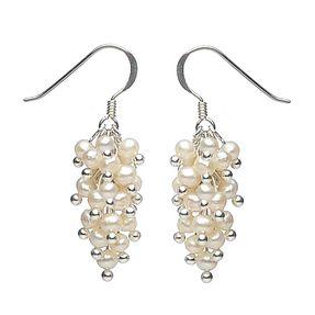 Ohrhänger aus Perlen 925 Silber