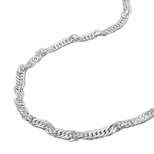 90cm-Bauchkette-Singapur-diamantiert-925-Silber