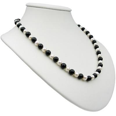 Kette-aus-Onyx-und-Perlen-und-925-Silber