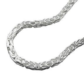 Armband-3mm-Königskette-Silber-925-19cm