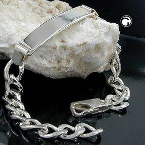Schildband-Armband-Weitpanzer-Silber-925-20cm