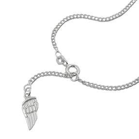 Fußkette-Engelflügel-Y-Kette-Silber-925-25cm
