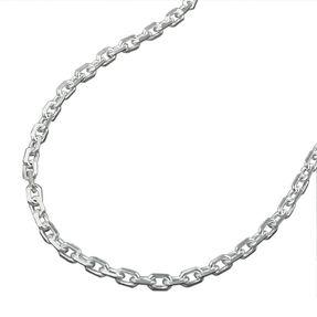 2mm-Ankerkette-aus-925-Silber-diamantiert-50cm