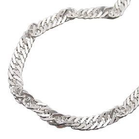 Singapur-Kette-diamantiert-Silber-925-50cm
