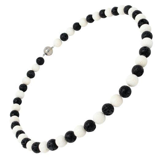 Halskette-aus-Lava-und-Koralle
