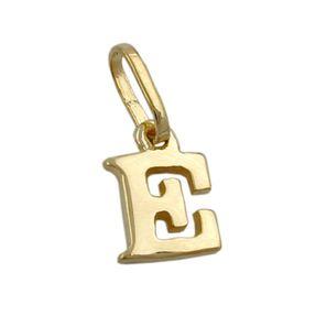 Anhänger-Buchstabe-E-aus-375-Gelbgold