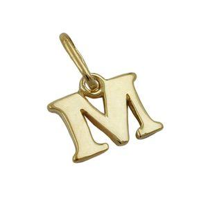 Anhänger-Buchstabe-M-aus-375-Gelbgold