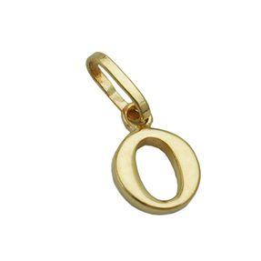 Anhänger-Buchstabe-O-aus-375-Gelbgold