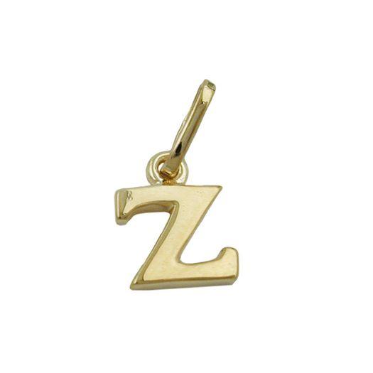 Anhänger-Buchstabe-Z-aus-375-Gelbgold