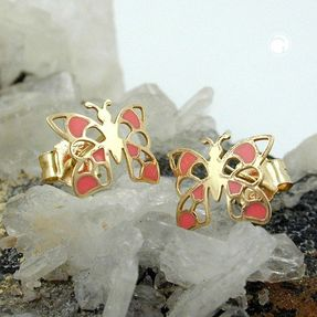 Ohrringe-Ohrstecker-Schmetterling-375-Gold