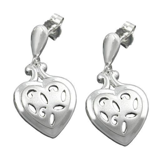 Ohrstecker-Herzen-aus-925-Silber-matt