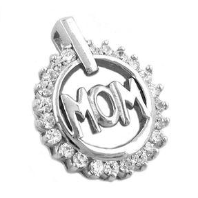 Anhänger-MOM-mit-Zirkonia-925-Silber