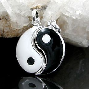 Partneranhänger-Yin-Yang-aus-925-Silber