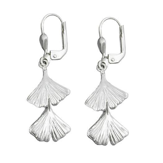 Ohrringe-Brisur-Ginkgo-Blatt-925-Silber