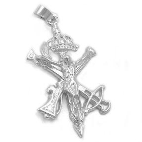 Anhänger-Legionärs-echtes-925-Silber