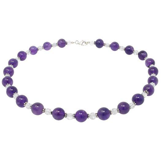 Collier-Amethyst-Bergkristall-weiss-violett