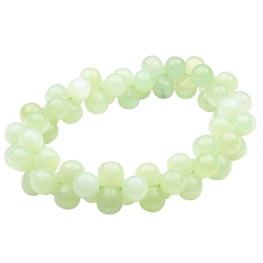 Armband-aus-Jade-in-DNA-Form-hellgrün-endlos