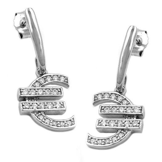 Ohrringe-Euro-Zeichen-mit-Zirkonia-925-Silber
