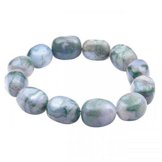 Armband-aus-Baumachat-grau-grün-dehnbar
