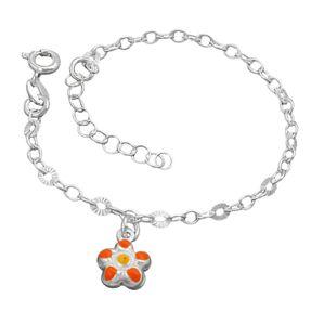 Kinder-Armband-mit-Blume-925-Silber-14cm