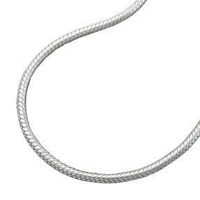 1-3mm-Schlangenkette-925-Silber-rund-40cm