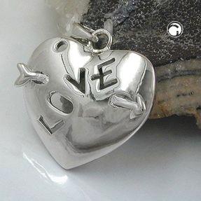 Anhänger-Herz-mit-Pfeil-Love-925-Silber