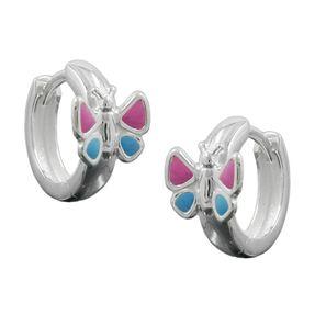Creolen-Schmetterling-pink-blau-925-Silber