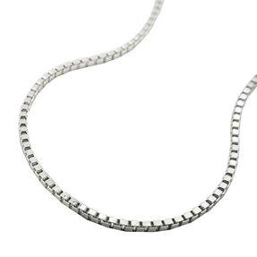 1mm Collier Kette Halskette, Venezianer, 925 Echtsilber, Damen, 36cm