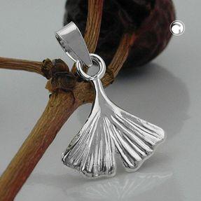 Anhänger-Ginkgoblatt-aus-925-Silber