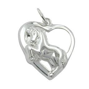 Anhänger-Herz-mit-Pferd-925-Silber