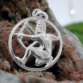 Anhänger-Sternzeichen-Schütze-925-Silber
