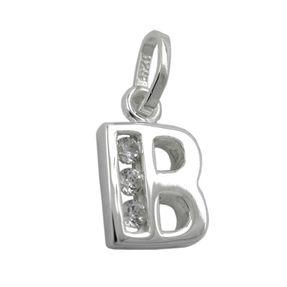 Anhänger-Buchstabe-B-mit-Zirkonia-925-Silber