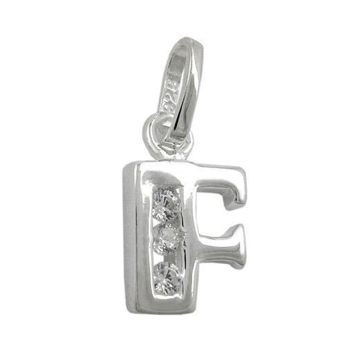 Anhänger-Buchstabe-F-mit-Zirkonia-925-Silber