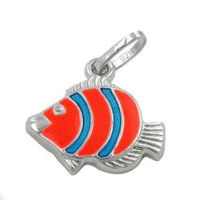 Anhänger-Clownfisch-orange-blau-925-Silber