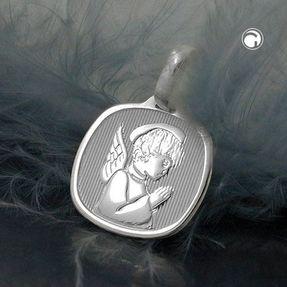 Medaille-kleiner-Engel-925-Silber