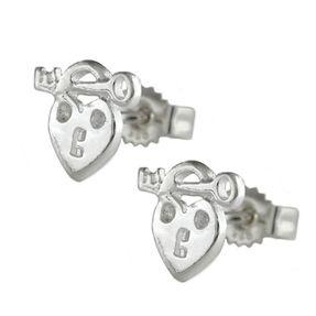 Ohrstecker-Herz-mit-Schlüssel-925-Silber