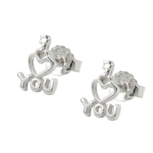 Ohrstecker-I-LOVE-YOU-925-Silber